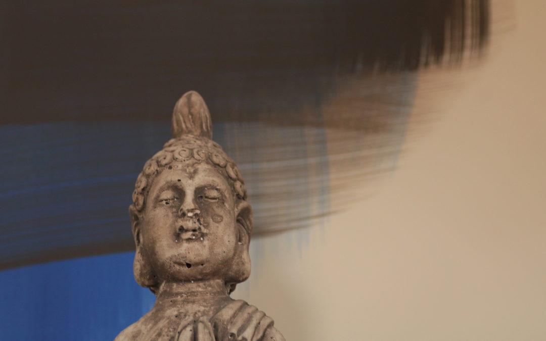 Buddha Therapiezimmer Michaele Dickmeis-Hoven